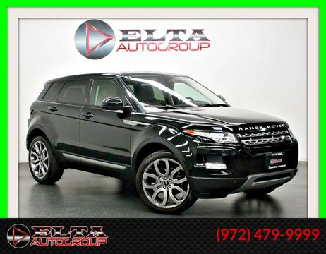 2015 Land Rover Range Rover Evoque for sale in Farmers Branch, TX
