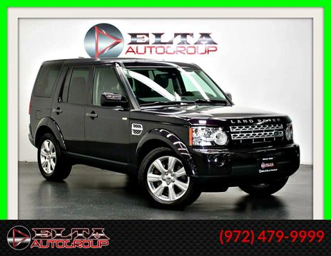 2013 Land Rover LR4 for sale in Farmers Branch, TX