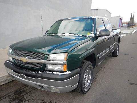 2004 Chevrolet Silverado 1500 for sale at DPM Motorcars in Albuquerque NM