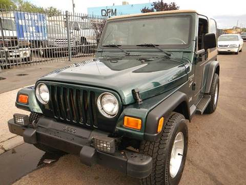 2000 Jeep Wrangler for sale at DPM Motorcars in Albuquerque NM
