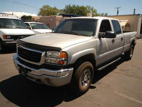 2004 GMC Sierra 2500HD for sale at DPM Motorcars in Albuquerque NM