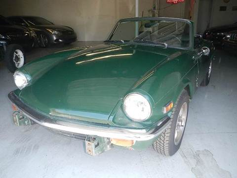 1976 Triumph spitfire for sale at DPM Motorcars in Albuquerque NM