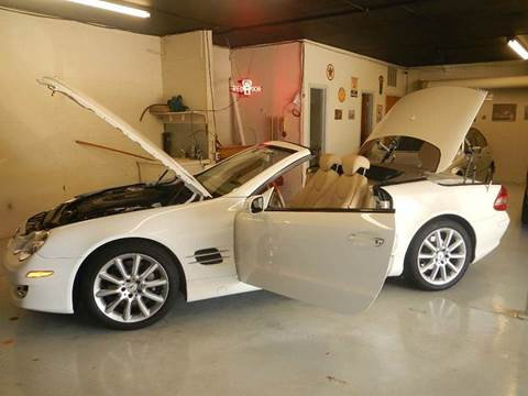 2007 Mercedes-Benz SL-Class for sale at DPM Motorcars in Albuquerque NM