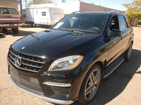 2014 Mercedes-Benz M-Class for sale at DPM Motorcars in Albuquerque NM