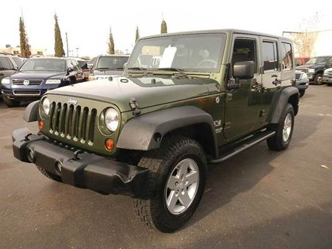 2009 Jeep Wrangler Unlimited for sale at DPM Motorcars in Albuquerque NM
