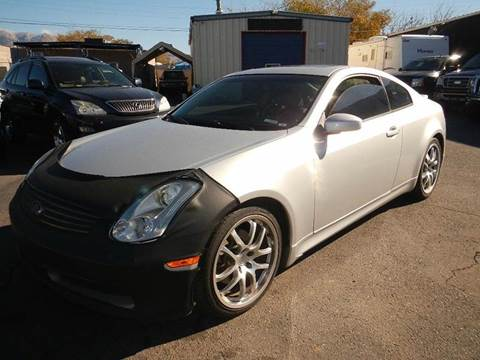 2006 Infiniti G35 for sale at DPM Motorcars in Albuquerque NM