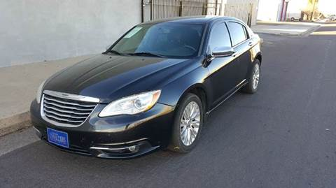 2011 Chrysler 200 for sale at DPM Motorcars in Albuquerque NM