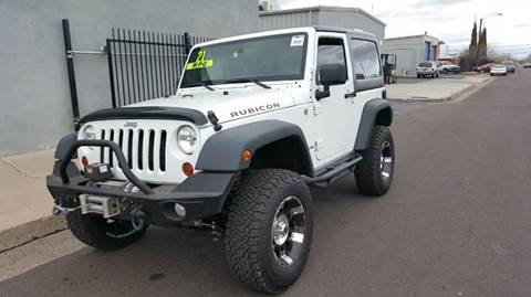 2013 Jeep Wrangler for sale at DPM Motorcars in Albuquerque NM