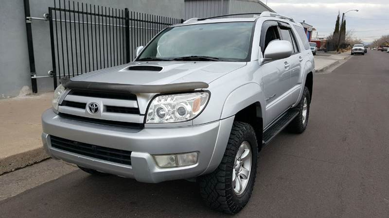 Toyota Runner Sport Edition WD Dr SUV In Albuquerque NM - 2005 4runner