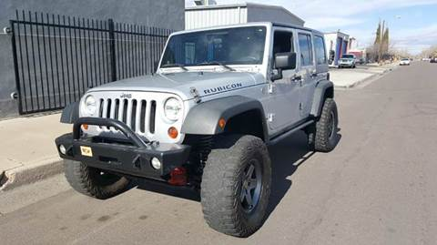 2008 Jeep Wrangler Unlimited for sale at DPM Motorcars in Albuquerque NM