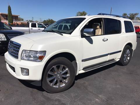 2008 Infiniti QX56 for sale at DPM Motorcars in Albuquerque NM