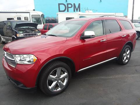 2011 Dodge Durango for sale at DPM Motorcars in Albuquerque NM
