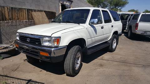 1995 Toyota 4Runner for sale at DPM Motorcars in Albuquerque NM