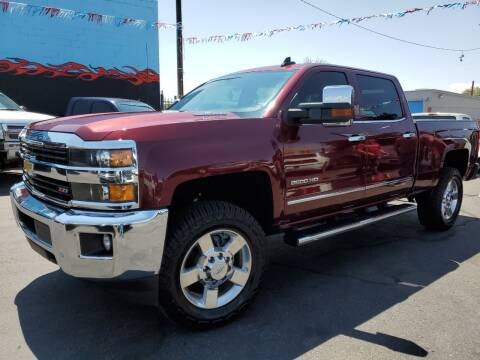 2016 Chevrolet Silverado 2500HD for sale at DPM Motorcars in Albuquerque NM