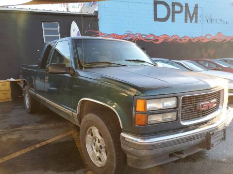 1996 GMC Sierra 1500 for sale at DPM Motorcars in Albuquerque NM