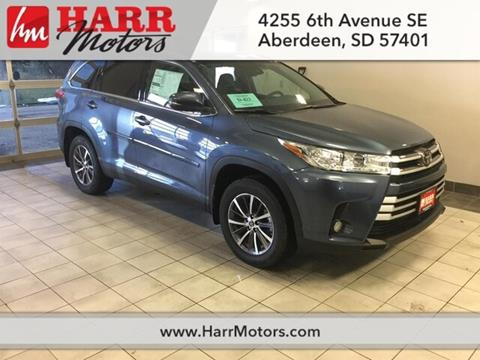 2019 Toyota Highlander for sale in Aberdeen, SD