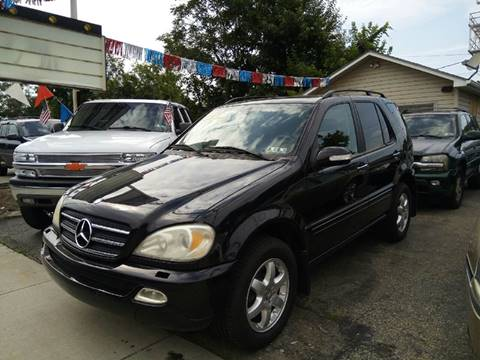 2002 Mercedes-Benz M-Class for sale in Mckeesport, PA