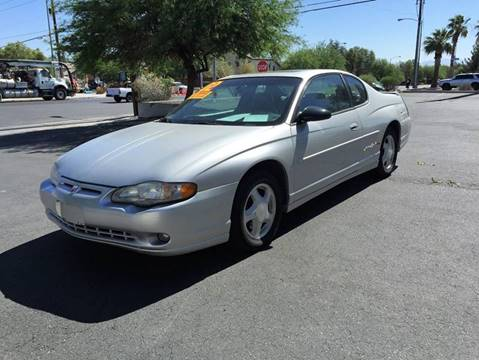 2002 Chevrolet Monte Carlo for sale in North Las Vegas, NV