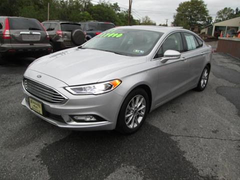 2017 Ford Fusion & Ford Used Cars financing For Sale PLEASANT GAP WORKMAN AUTO INC markmcfarlin.com