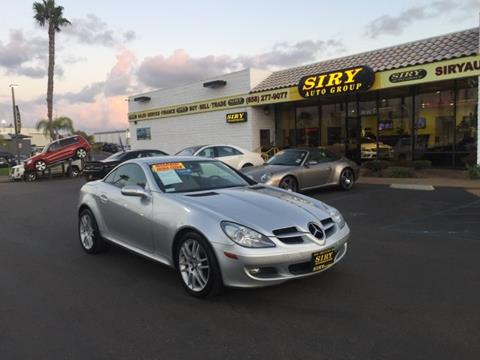 2008 Mercedes-Benz SLK for sale in San Diego, CA