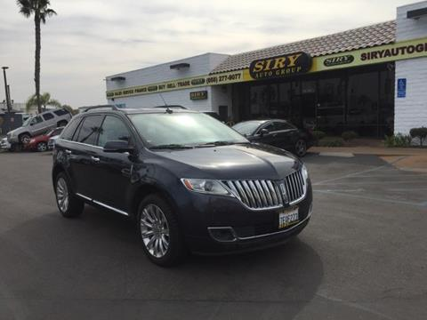 2014 Lincoln MKX for sale in San Diego, CA