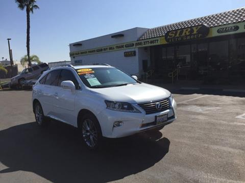 2013 Lexus RX 450h for sale in San Diego, CA
