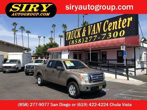 2011 Ford F-150 for sale in San Diego, CA