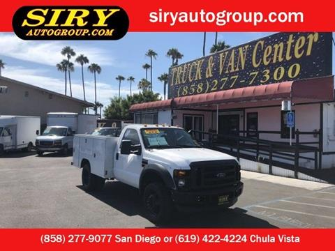 2008 Ford F-450 Super Duty for sale in San Diego, CA