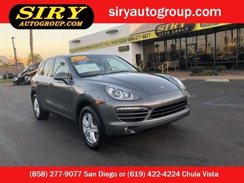 2012 Porsche Cayenne for sale in San Diego, CA