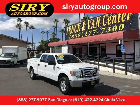 Trucks For Sale San Diego >> 2010 Ford F 150 For Sale In San Diego Ca