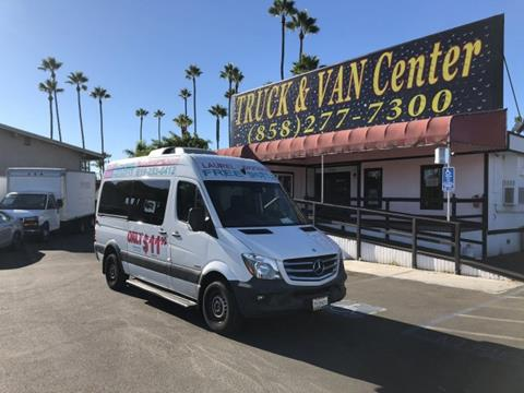 2016 Mercedes Benz Sprinter For Sale In San Diego, CA