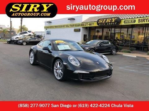 2012 Porsche 911 for sale in San Diego, CA