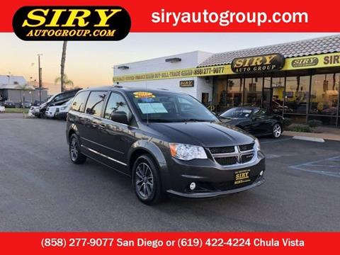 2017 Dodge Grand Caravan for sale in San Diego, CA