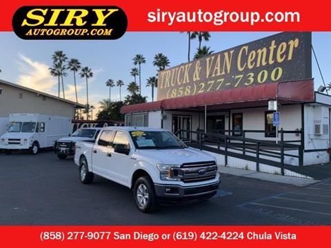 2018 Ford F-150 for sale in San Diego, CA
