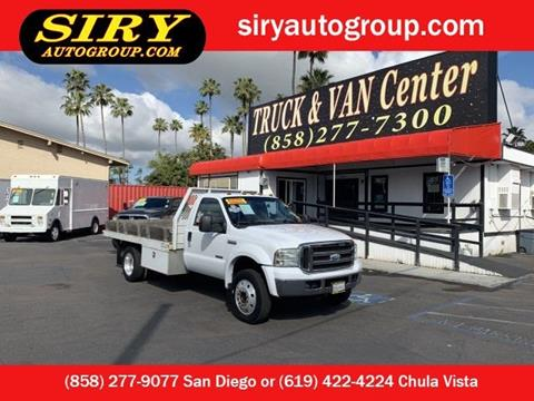 2005 Ford F-450 Super Duty for sale in San Diego, CA