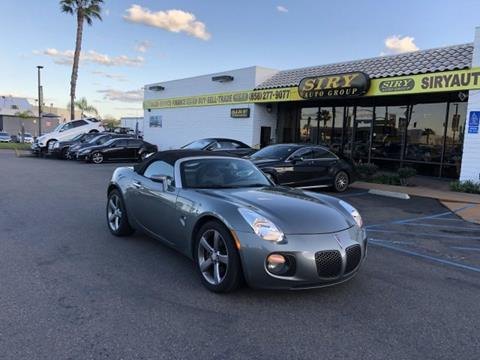 2007 Pontiac Solstice for sale in San Diego, CA