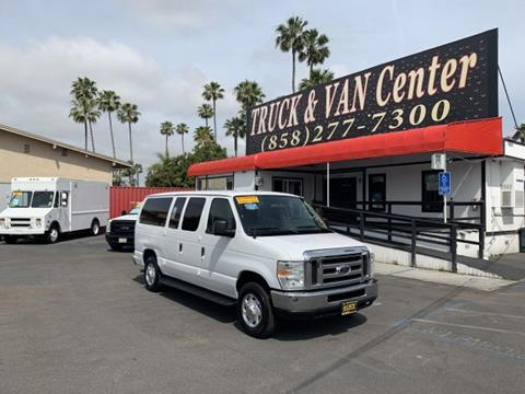 Ford 12 Passenger Van >> 2009 Ford E Series Wagon For Sale In San Diego Ca