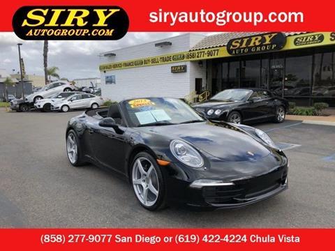 2013 Porsche 911 for sale in San Diego, CA