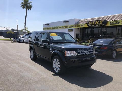 Range Rover San Diego >> 2013 Land Rover Lr4 For Sale In San Diego Ca