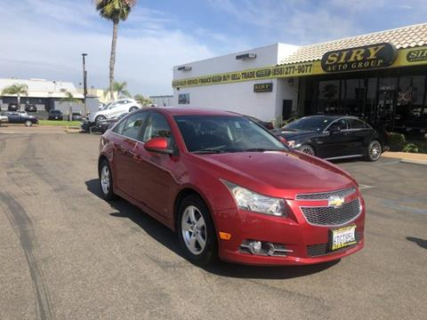 Cars For Sale San Diego >> 2012 Chevrolet Cruze For Sale In San Diego Ca