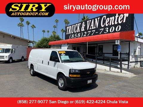 2019 Chevrolet Express Cargo for sale in San Diego, CA