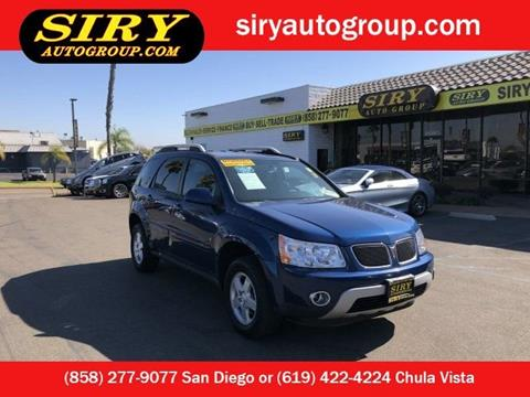 2009 Pontiac Torrent for sale in San Diego, CA