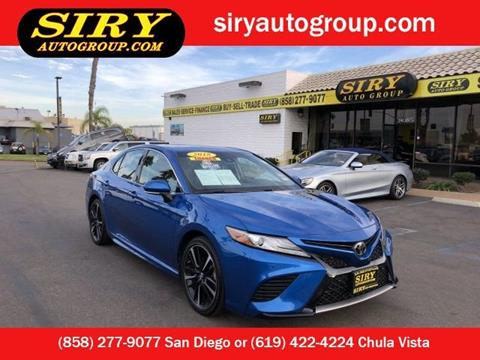 2018 Toyota Camry for sale in San Diego, CA