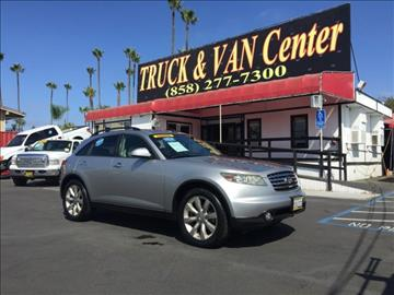 2003 Infiniti FX45 for sale in San Diego, CA