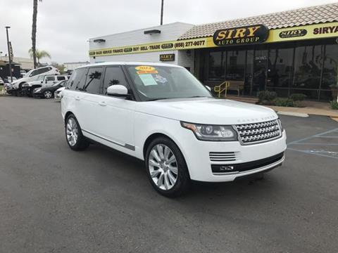 land rover range rover for sale in san diego ca. Black Bedroom Furniture Sets. Home Design Ideas