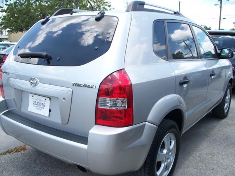 2008 Hyundai Tucson GLS 4dr SUV - San Antonio TX