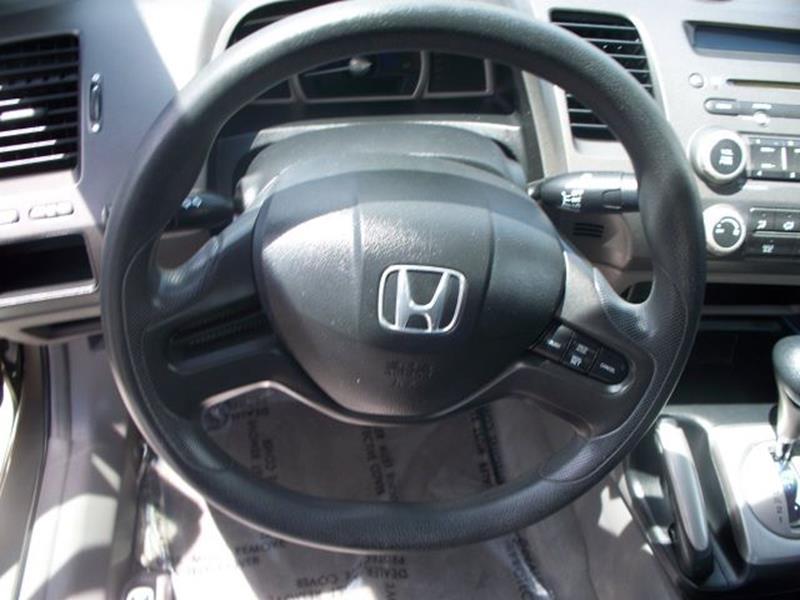 2008 Honda Civic LX 4dr Sedan 5A - San Antonio TX