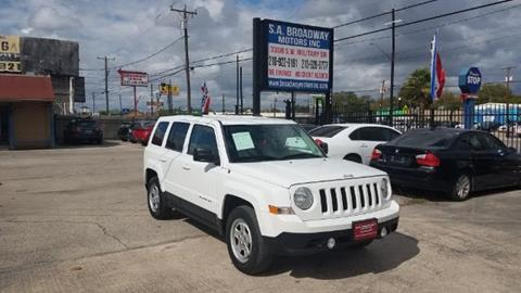 2015 Jeep Patriot for sale at S.A. BROADWAY MOTORS INC in San Antonio TX