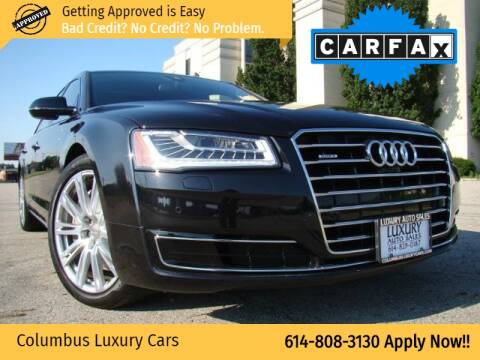 2015 Audi A8 L for sale at Columbus Luxury Cars in Columbus OH