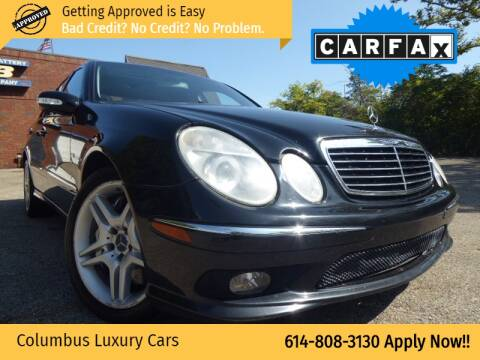 2003 Mercedes-Benz E-Class for sale at Columbus Luxury Cars in Columbus OH